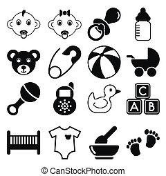 bebê, ícones