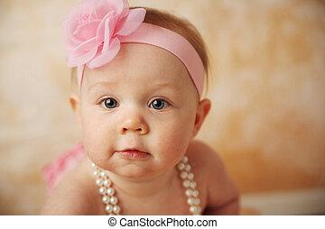 bebê bonito, menina