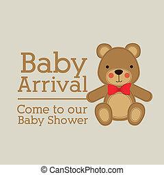 bebê, chegada