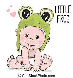 bebê, cute, caricatura