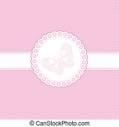 bebê, fundo cor-de-rosa