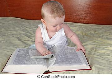 bebê, livro