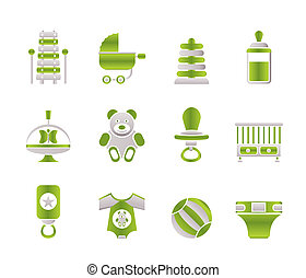 bebê, loja, criança, online