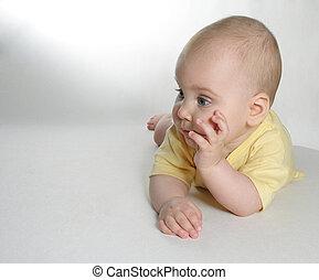 bebê, pensar