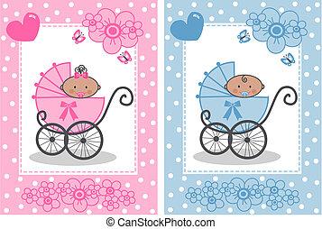 bebê recém-nascido, anúncio