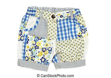 bebê, shorts