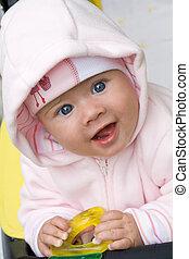 bebê, sorrindo