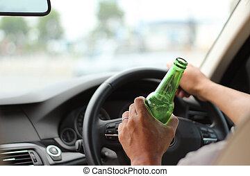 bebida, conducción