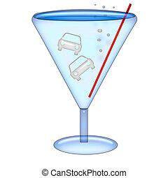 bebida, conduzir