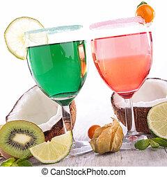 bebida, coquetel