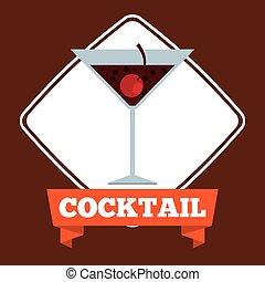 bebida, delicioso