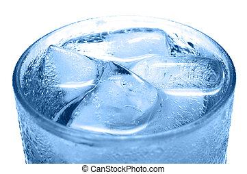 bebida fría, hielo