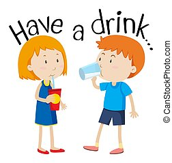 bebida, ter