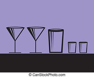 bebidas alcohólicas, moderno