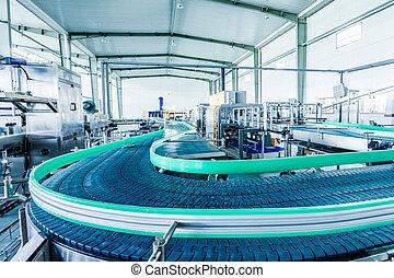 bebidas, producao, planta, em, china