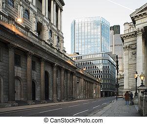 bebyggelse, in, londons stad