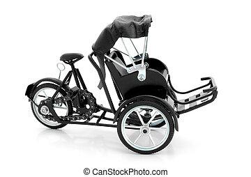 becak, pedicab, ricksha