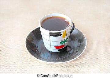 becher, von, der, bohnenkaffee