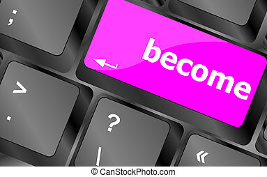 become word on keyboard key, notebook computer button