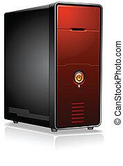 becsomagol, gyakorlatias, computer server