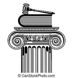 becsomagol, törvény, prevailing
