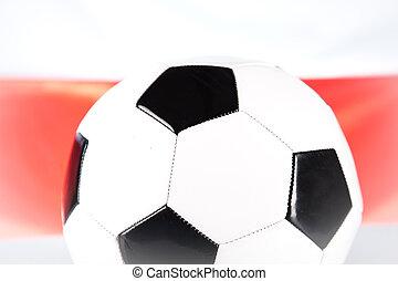 becsuk, futball, feláll, labda