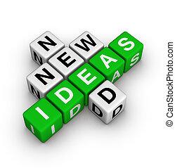 bedürfnis, neue ideen