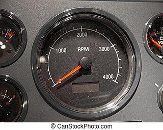 bedürfnis, rpm, rasen schnell
