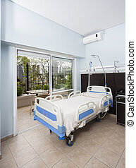 Bed In Rehabilitation Center