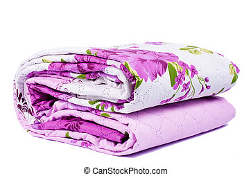 Bed sheets isolated