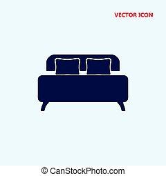 bed vector icon