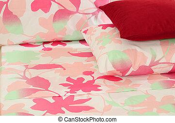 Bedding - Arranged bed