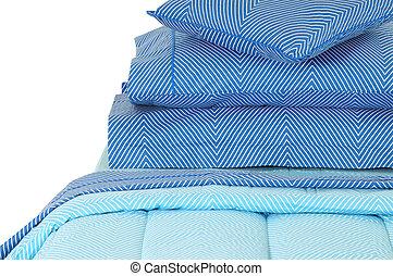 Blued bed set