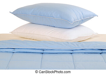 Bedding - Two pillows on bed