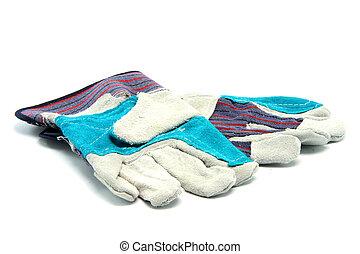 bedienen handschuhe, tragen
