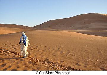 Bedouin in the Sahara desert, Morocco Africa