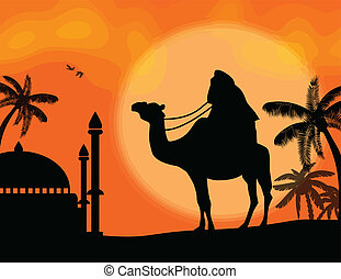 Bedouin travel background - Rajasthan travel background -...