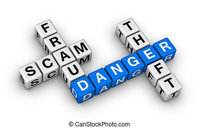 bedrägeri, scam, stöld