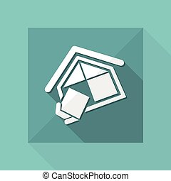 bedrijf, bouwsector, symbool
