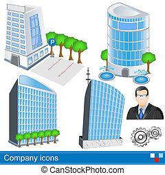 bedrijf, iconen
