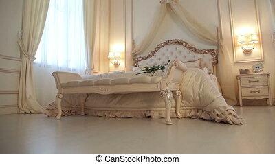 Bedroom color creme brulee - Beautiful bedroom color creme...
