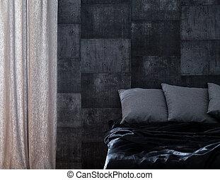 Bedroom for bachelor