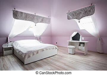 Bedroom for romantic couple