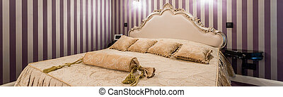 Bedroom in baroque style