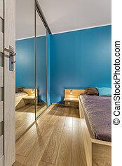 Bedroom in luxurious style idea
