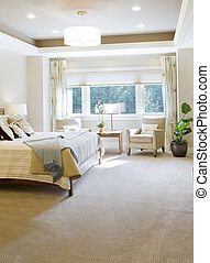 Bedroom in New Luxury Home
