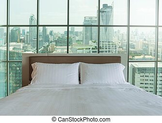 Bedroom in the morning light