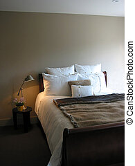 Bedroom interior - Modern bedroom interior