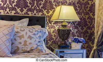 Bedroom interior shot