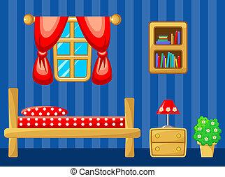 bedroom., interior.